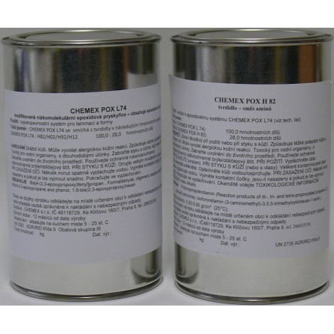 Chemex POX L 74-H82 sada 1,28 kg