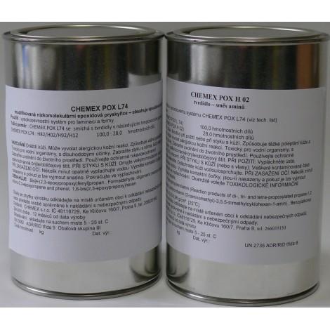 Chemex POX L 74 - H02 - sada 1,28 kg