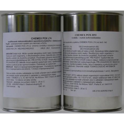 Chemex POX L 74 - H92 - 1,28 Kg