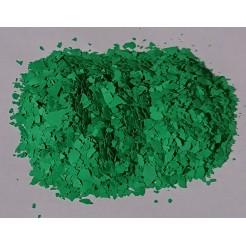 Barevné chipsy zelené  - 0,4 kg