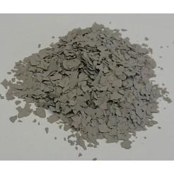 Barevné chipsy šedé  - 0,4 kg